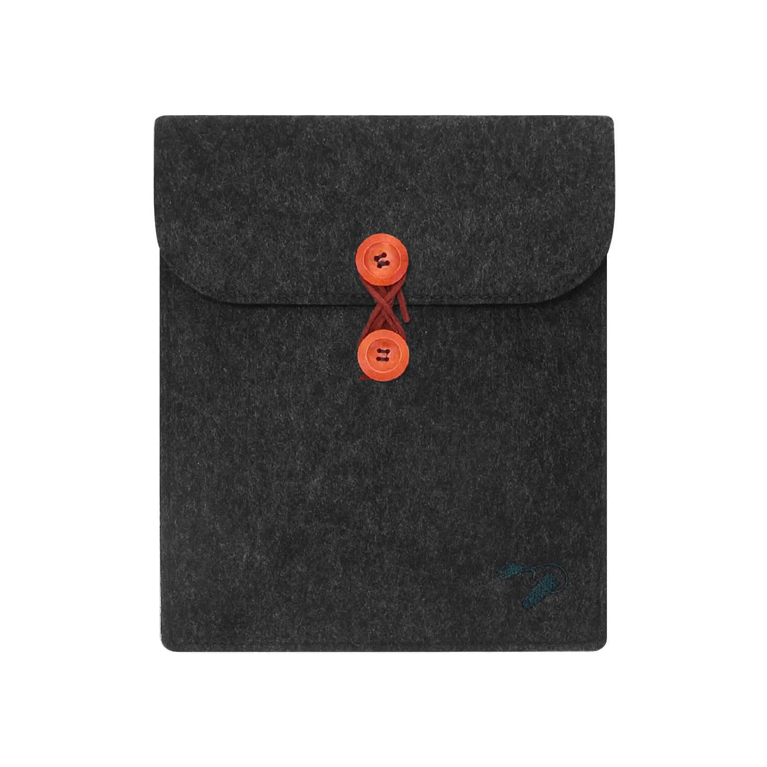 Felt case tablet 9.7 - travel darkgrey 1