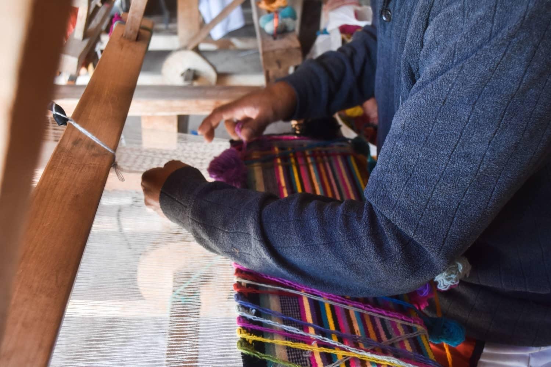 Ayni Ppacha Handarbeit