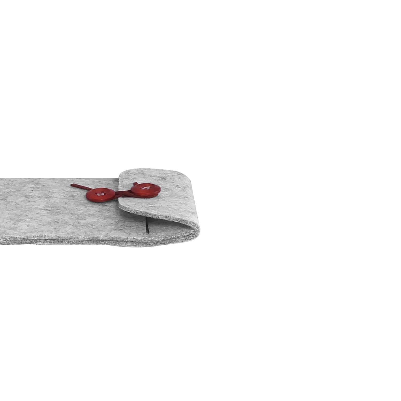 Felt case smartphone - travel grey 5