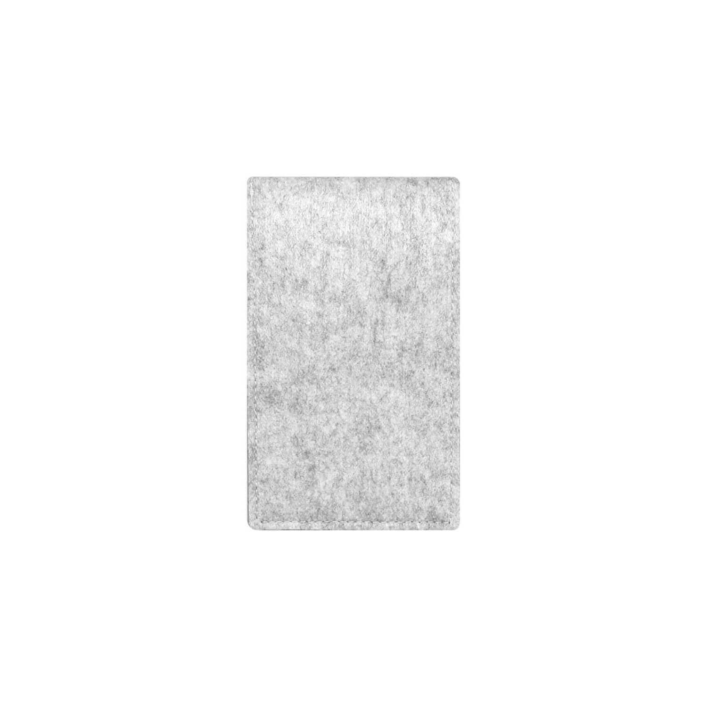 Felt case smartphone - travel grey 2
