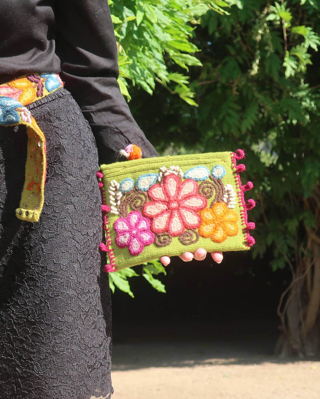 Damentasche Melia Bordeauxrot 5