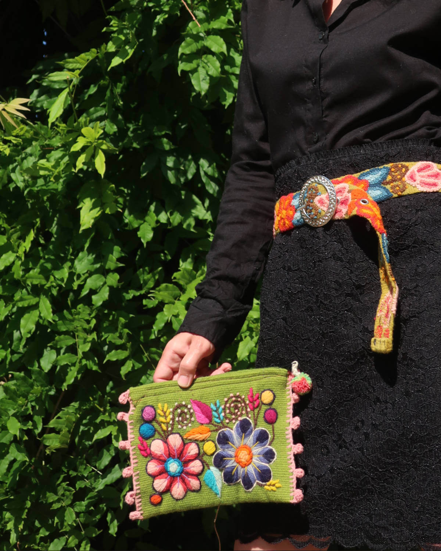 Damentasche Melia Apricot 2