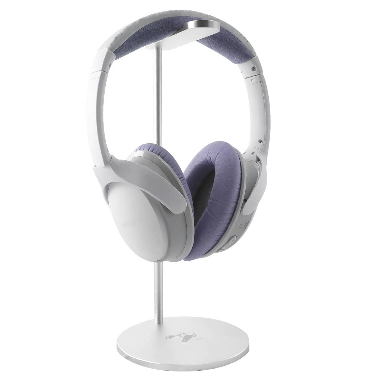 Alu holder headphones silver 2