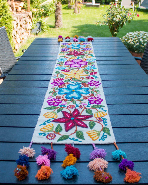 Tischläufer Flores Ayacuchanas 2