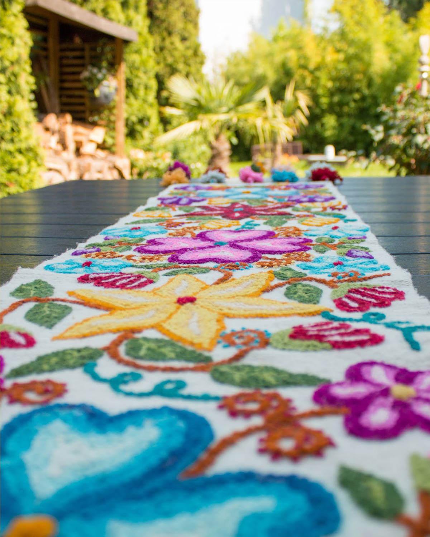 Tischläufer Flores Ayacuchanas 7